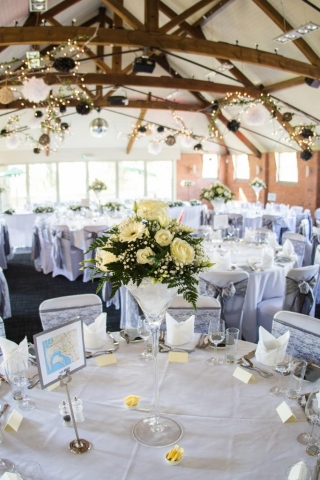 venue dressing flair with flowers redditch
