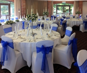 blue candelabra abbey hotel