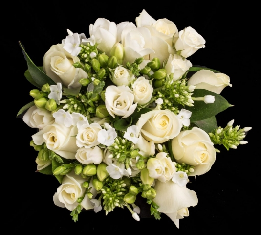 scented classy bouquet wedding florist redditch