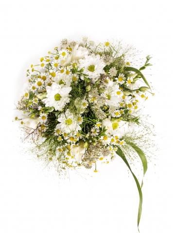 wild garden flower bouquet