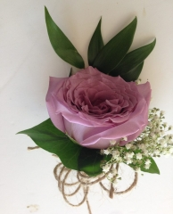 bridal party buttonholes mens or ladies