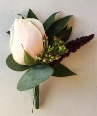 burgundy theme buttonholes