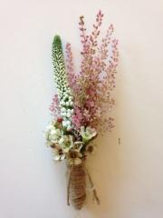 vintage delicate flowers wax flower astilbe
