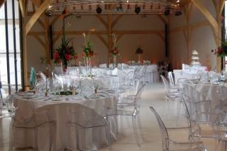 Tropical vase arrangements at Red House