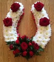 funeral tribute for horse loves