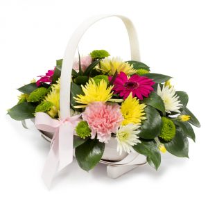 basket arrangement birthday