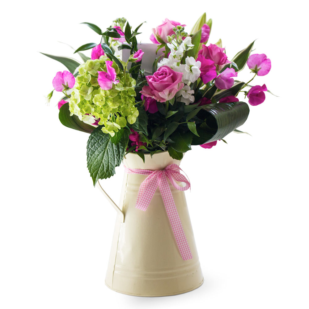 A Jug Of Love Flair With Flowers