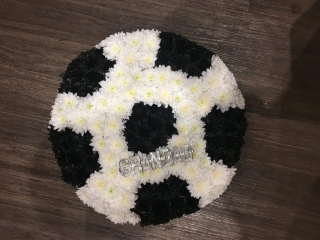 Football Fans Wreath