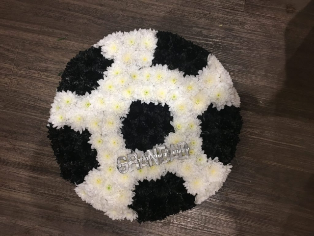Football Fans Wreath