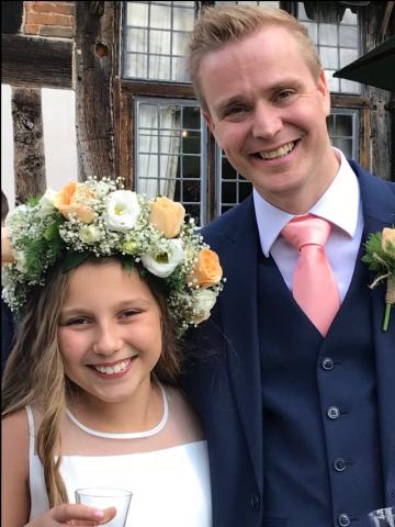 Bridesmaids headdress