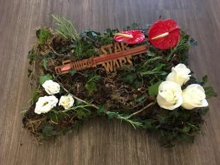 Star Wars funeral tribute