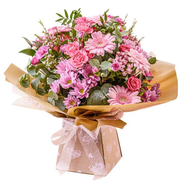 eco friendly handtied bouquet
