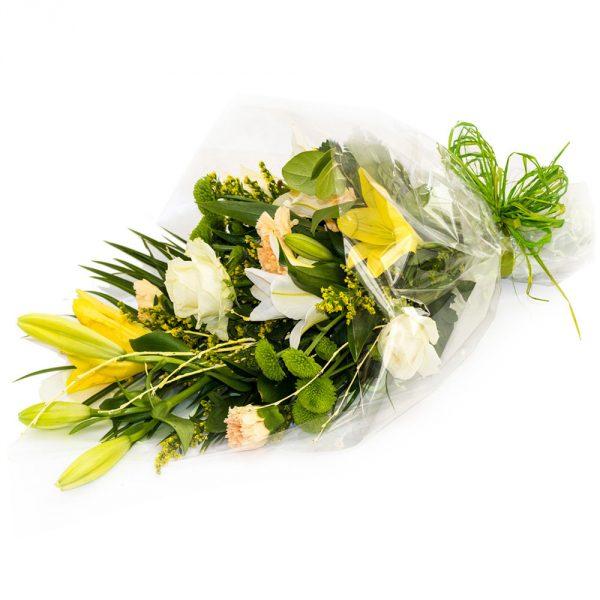 lemon and white bouquet