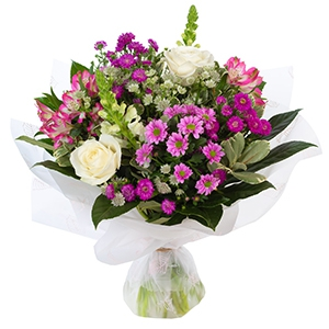 FRIENDSHIP BOUQUET IN PINKS AND WHITES